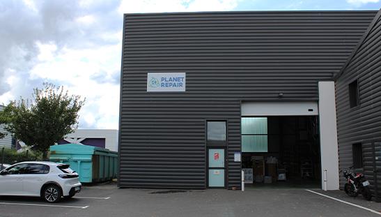 Atelier Nantais de Planet Repair situé aux Sorinières